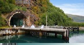 Buy a Secret Submarine Base!