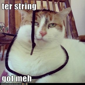 ter string  got meh
