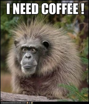 I NEED COFFEE !