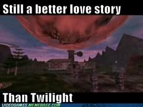 FAR better love story than Twilight...