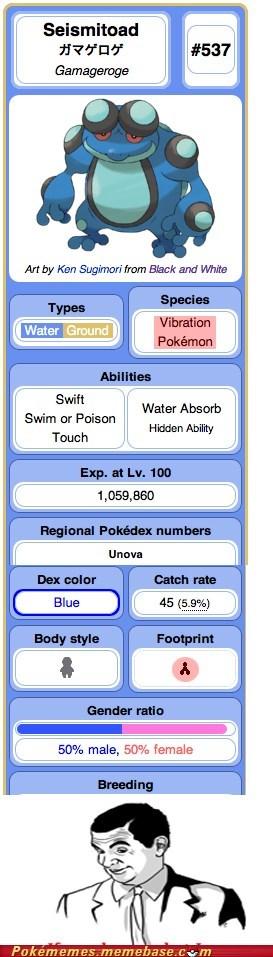 The vibration type pokemon