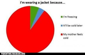 Parenting Fails: Why Kids Wear Jackets