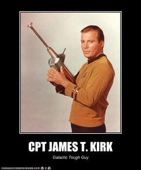 CPT JAMES T. KIRK