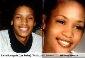 Larry Bourgeois (Les Twins) Totally Looks Like Whitney Houston