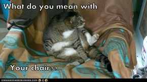Your chair?