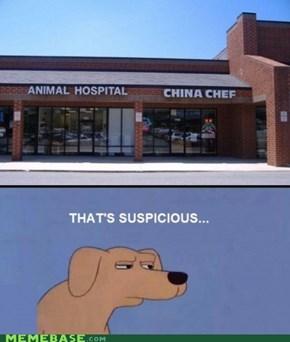 Suspicious..