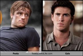 Peeta Totally Looks Like Gale