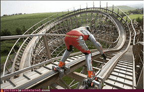 The One Man Rollercoaster