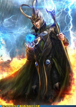 Epic Loki Art