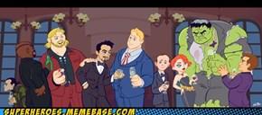 The Avengers Dinner Party