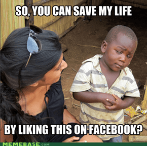 Skeptical 3rd World Kid - Is Saving Lifes That Easy?