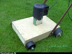 Minimalist Lawn Mowers