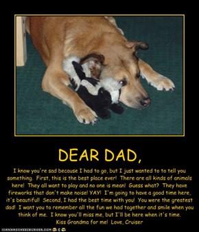 DEAR DAD,