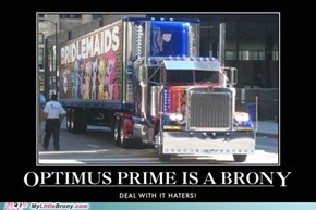 Optimus Prime is a Brony