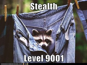 Stealth  Level 9001