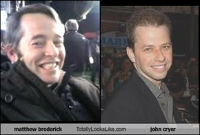matthew broderick Totally Looks Like john cryer