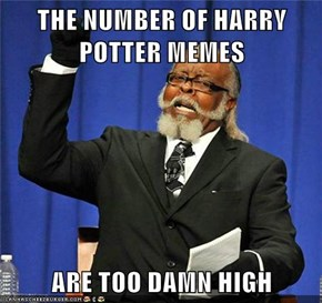 THE NUMBER OF HARRY POTTER MEMES  ARE TOO DAMN HIGH