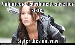 Volunteers as tribute to save her sister  Sister dies anyway