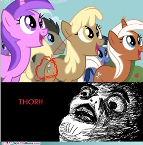 Thor in my little pony