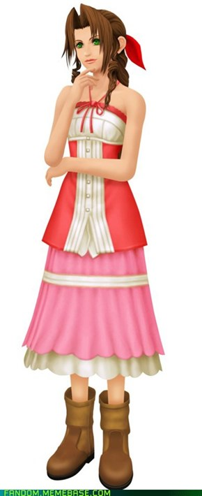 Fan Art: Aerith (FF7)