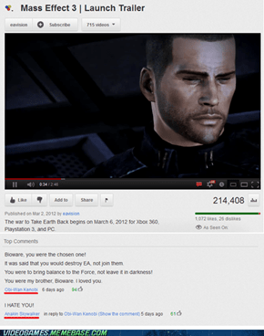 Mass Effect 3 Extended Endings Comin Soon!
