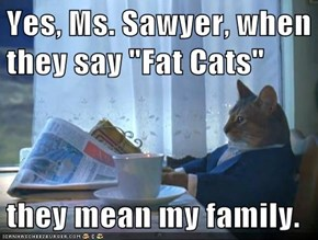 "Yes, Ms. Sawyer, when they say ""Fat Cats""  they mean my family."