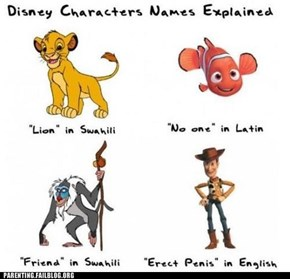 Where Disney Character Names Come From