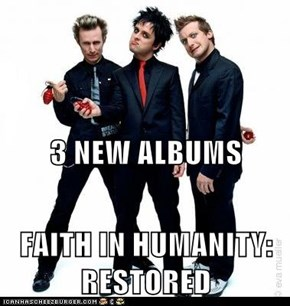 3 NEW ALBUMS FAITH IN HUMANITY: RESTORED