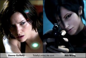 Sienna Guillory Totally Looks Like Ada Wong