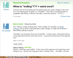 The True Meaning of Trolling