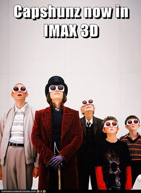 Capshunz now in IMAX 3D