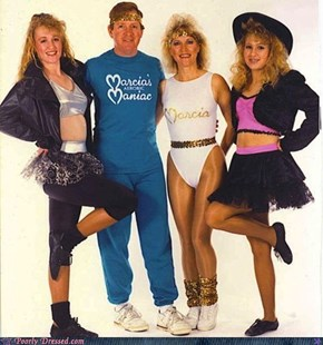 Time to Jazzercise!