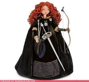 Brave Merida Doll