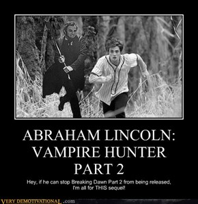 ABRAHAM LINCOLN: VAMPIRE HUNTER  PART 2