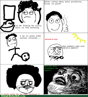Curly Hair Rage