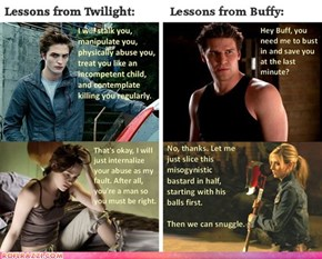 """Twilight"" vs ""Buffy"""