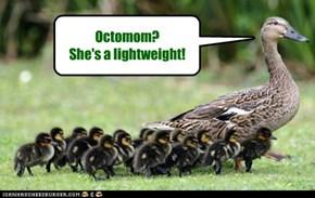 Octomom? She's a lightweight!