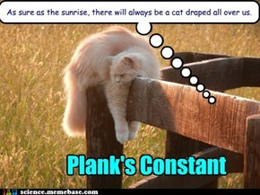 So That's What Planck's Constant Is...