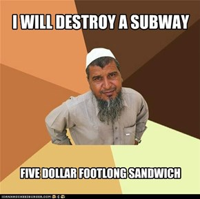 I WILL DESTROY A SUBWAY