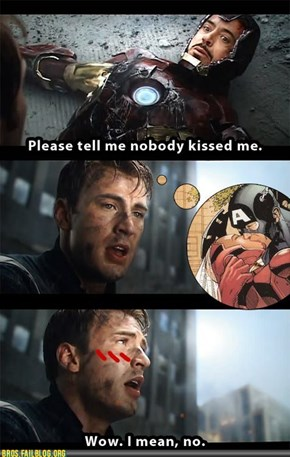 Slashfic Sunday: While Tony Was Out ...