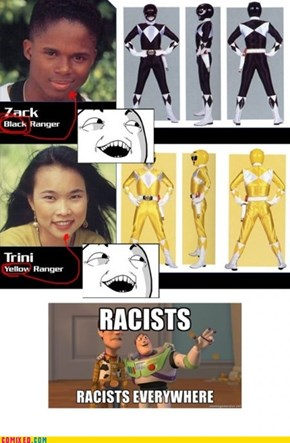 And Sexist Thanks to the Pink Ranger