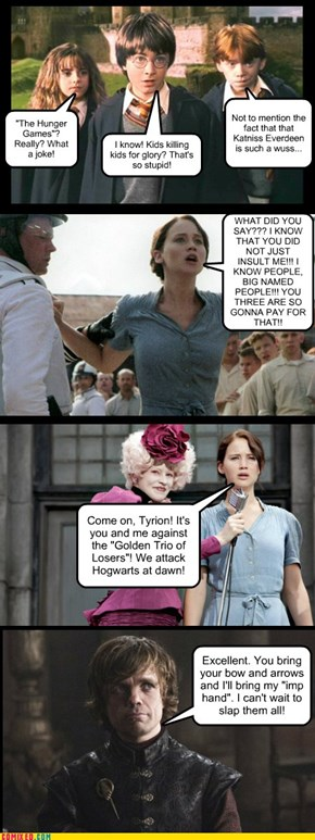 "Never Insult ""The Hunger Games"""