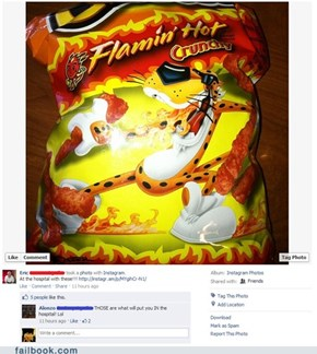 Flamin' Hot Heart Attack