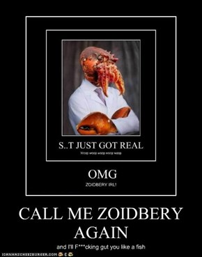 CALL ME ZOIDBERY AGAIN