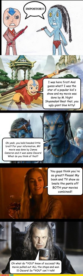 "This ""Avatar"" vs. ""Avatar"" Fight is Getting Way Out of Hand..."