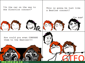 One Direction vs. The Beatles