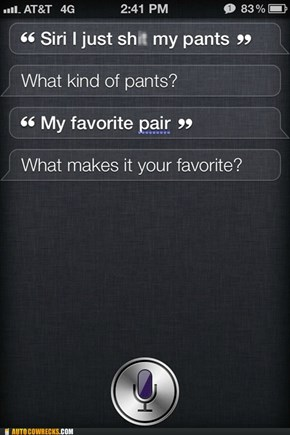 Siri I Think We Need to Reevaluate Your Priorities