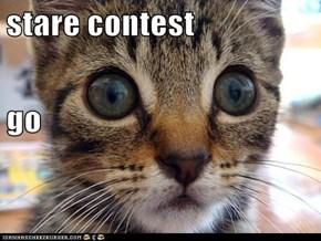 stare contest  go