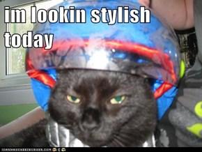 im lookin stylish today
