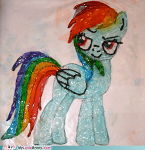 Hard Candy Rainbow Dash